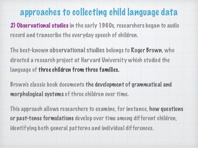 language development research