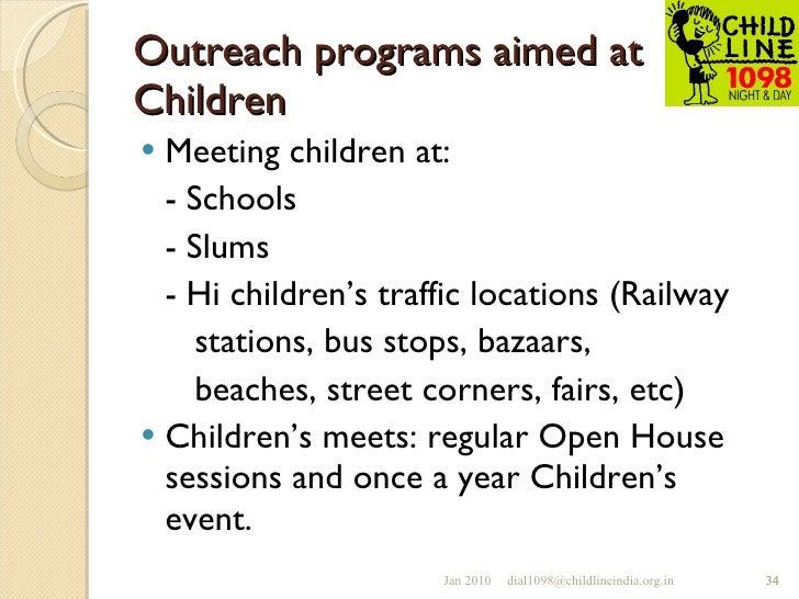 Outreach program