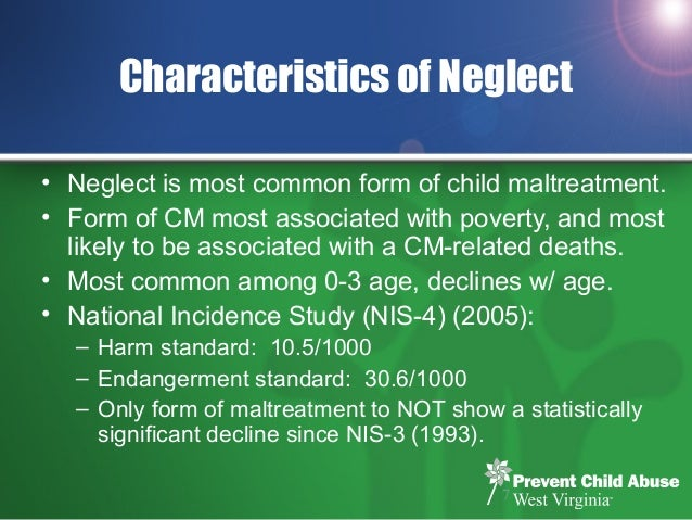 Building Healthy Communities and Preventing Child Neglect