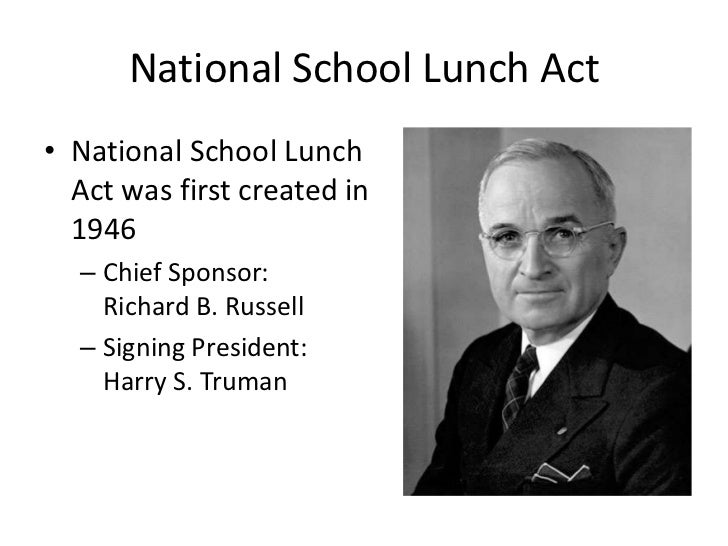 national school lunch program The school lunch program makes it possible for schools to serve nutritious inexpensive lunches to students each day.