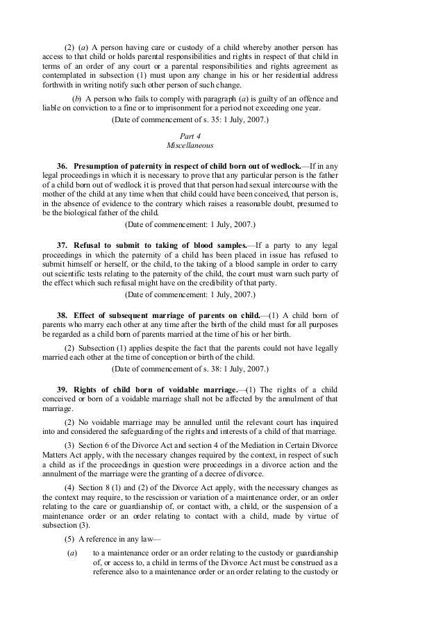 Child protection act – Sample Child Custody Agreement