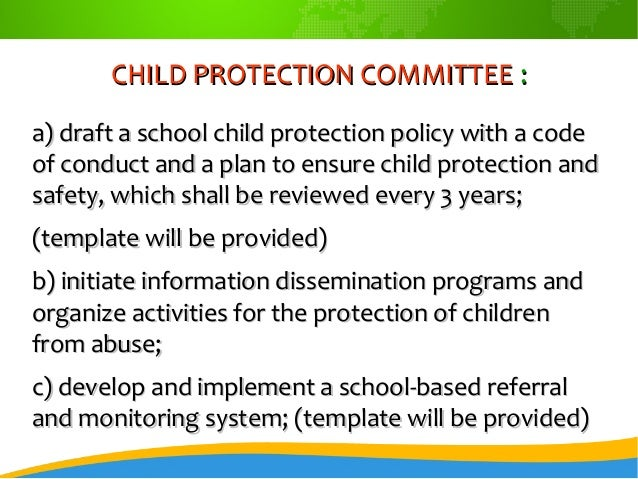 child protection committeechild