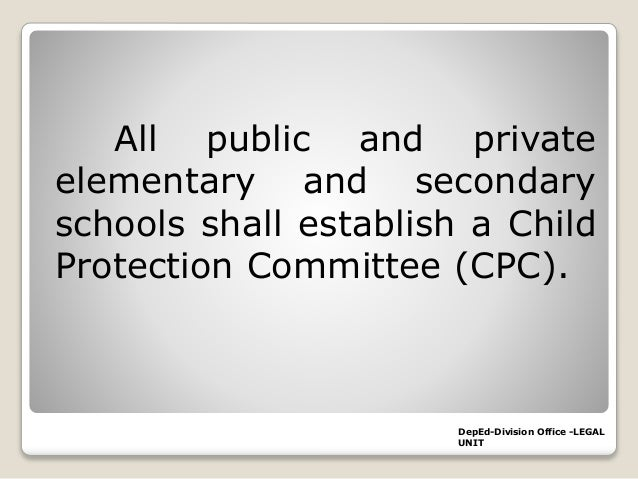 how to write a child protection policy