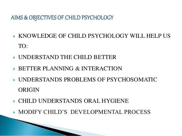 Child psychology Slide 3