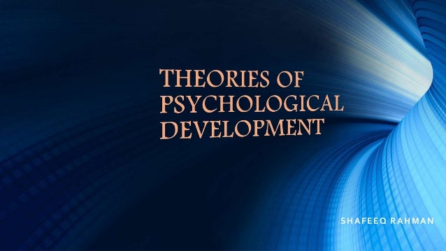 Child psychology Slide 2
