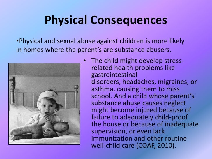 effects of sexual abuse on children essays