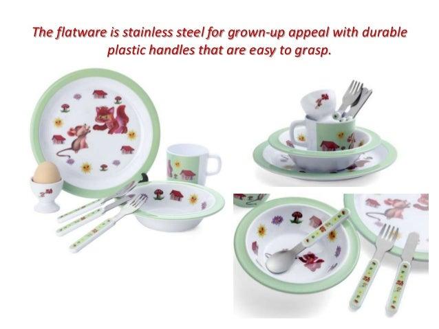 4.  sc 1 st  SlideShare & Toddlers feeding set / Children dinnerware set