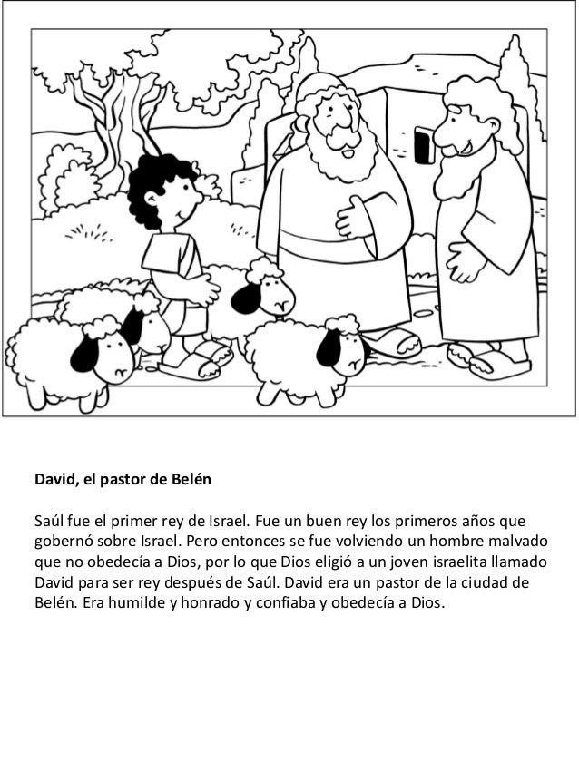 Niños Y Jóvenes En La Biblia Libro Para Colorear