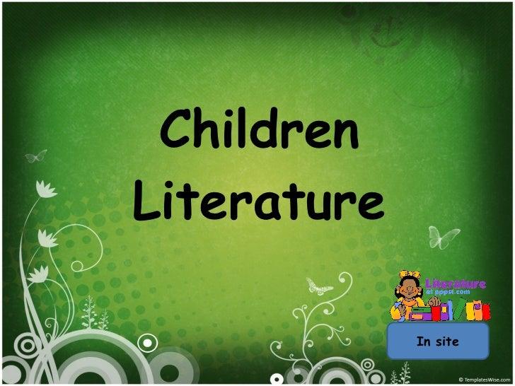 Children Literature In site