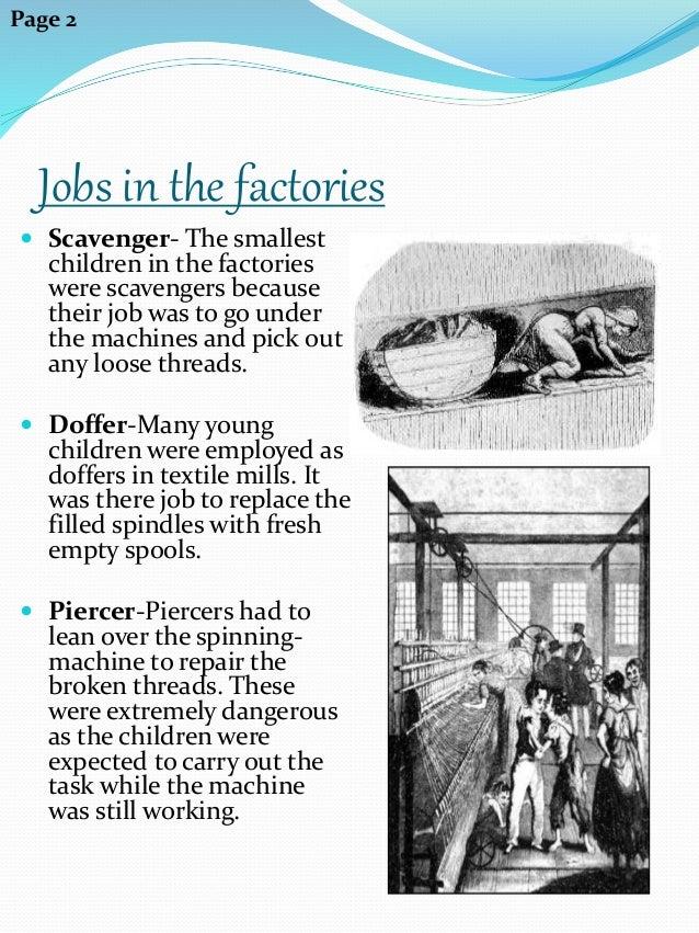 children of the industrial revolution