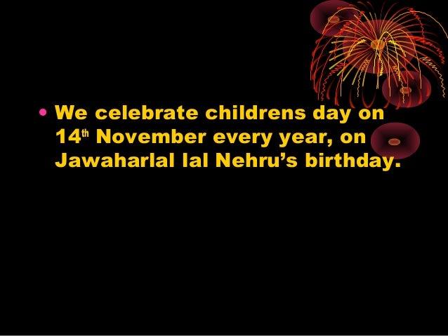 Jawaharlal nehru s birthday bal mela