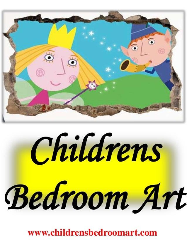 Childrens bedroom art