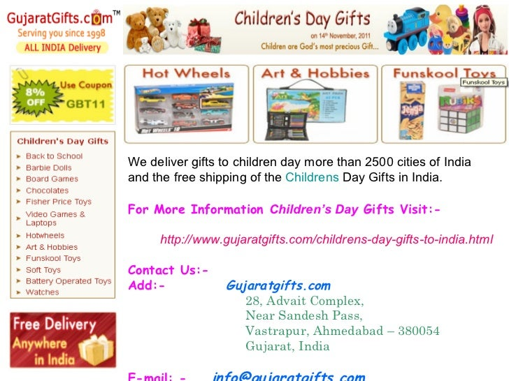 how to send gifts to india