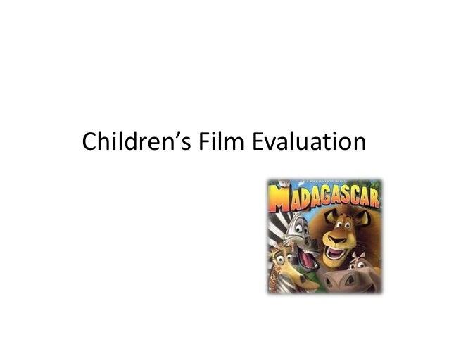 Children's Film Evaluation