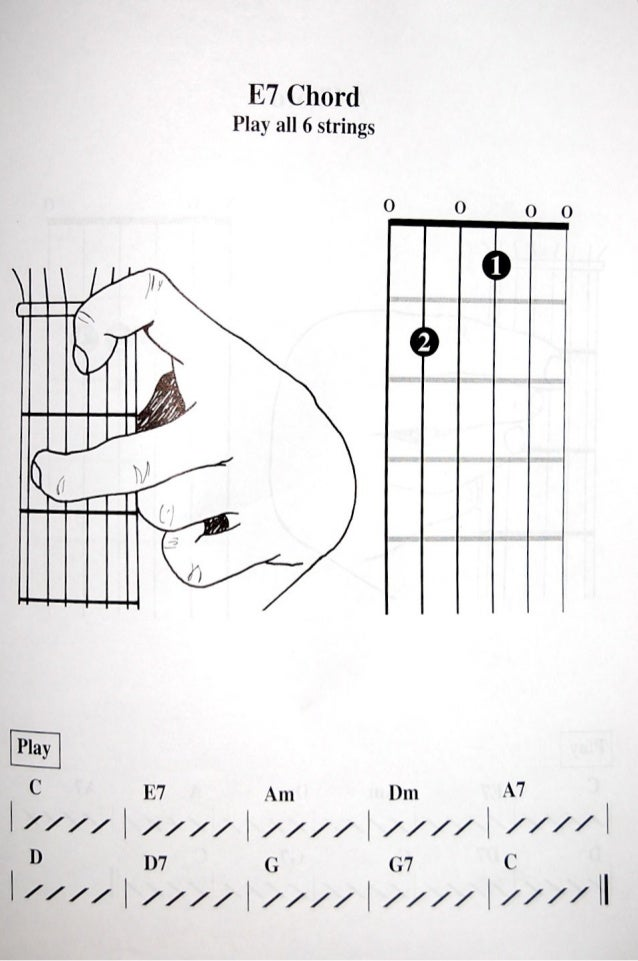 Childrens Guitar Chord Book