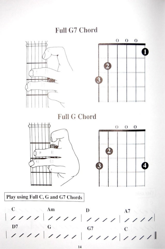 Childrens Guitar Chord Book