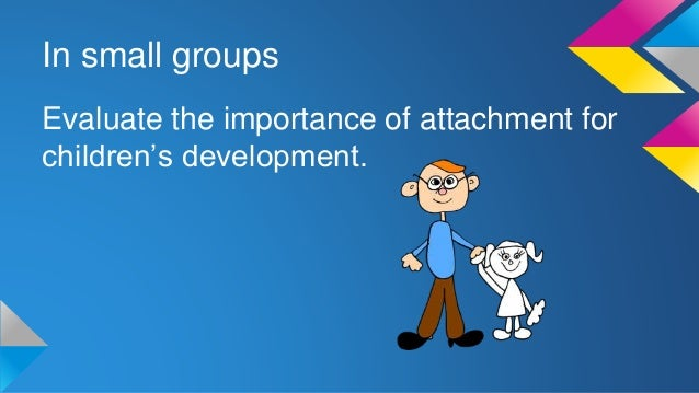 an analysis of the development of attachment and the factors which create a secure attachment What factors might lead to secure attachment the af's  secure preschoolers  develop better reading or pre-reading skills and  in summary, security of  attachment is linked to academic achievement from preschool.