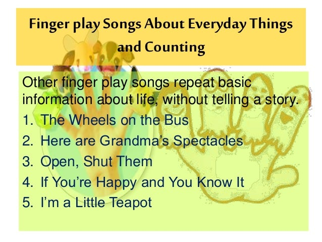 preschool counting songs and fingerplays poem with counting for preschoolers just b cause 160