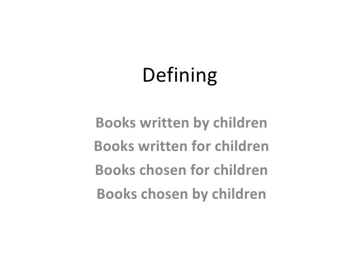 Children's Literature Slide 2