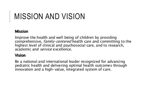 Hospital Mission Statement Examples Pictures to Pin on ...