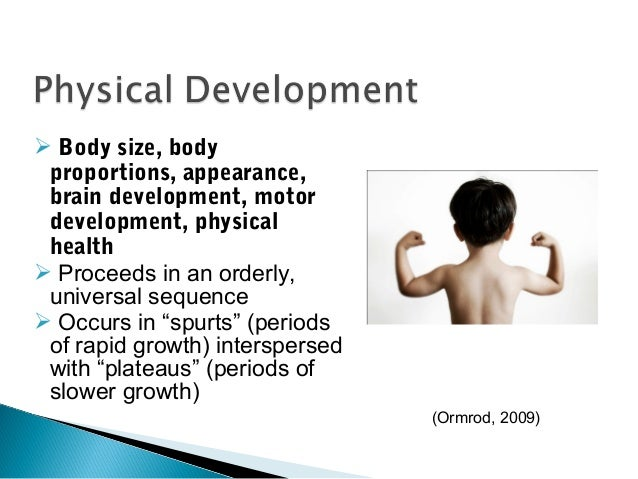 child pysical developement