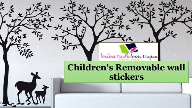 Childrenu0027s Removable Wall Stickers ...