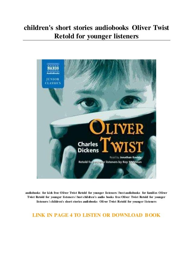 what is the story of oliver twist about in short