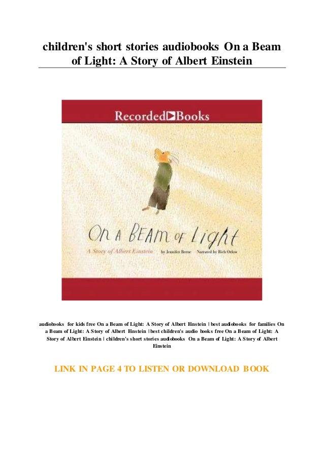 On a Beam of Light A Story of Albert Einstein