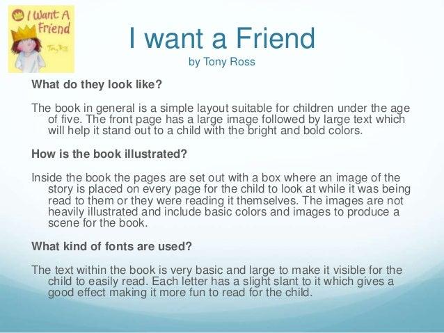 i want a friend tony ross pdf