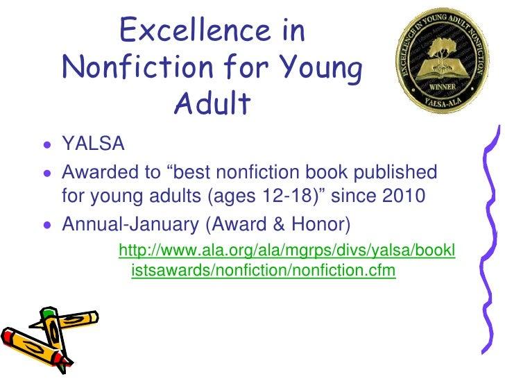 award Young adult book