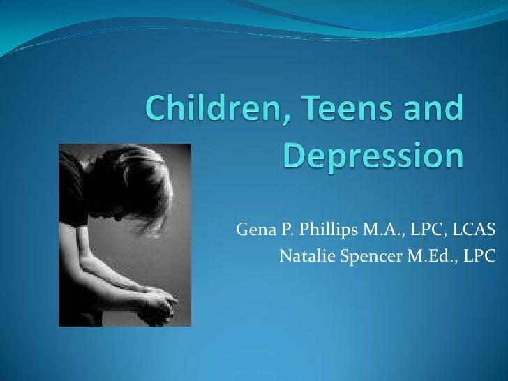 Gena P. Phillips M.A., LPC, LCAS     Natalie Spencer M.Ed., LPC