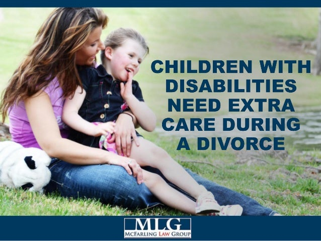 Divorces are tough on everyone, but they can present special challenges for children with disabilities. Divorce agreements...