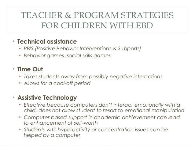 Children With EBD