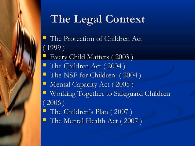 "child protection every child matters Every professional situation these guidelines are a revision of the 1999 ""guidelines for psychological evaluations in child protection matters""."