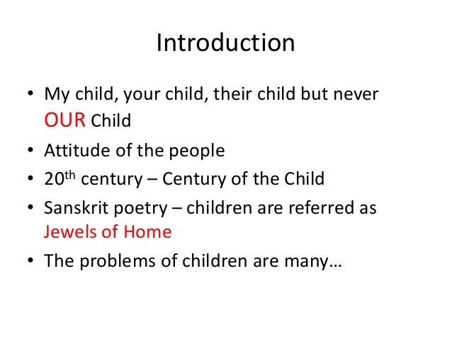 Child rights   babu Slide 2