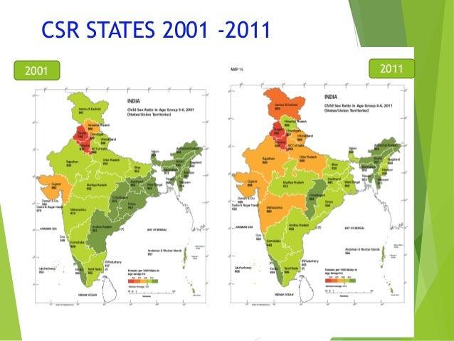 Sex Ratio of India