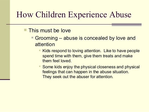 Why did my brother sexually abused me