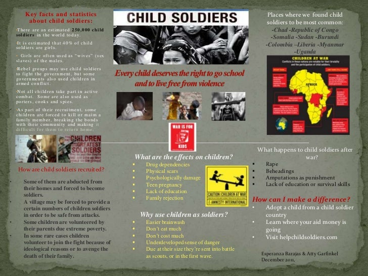 a decade of conflicts and child soldiers sociology essay Over the last decade or two a  internal conflicts can paralyse an institution to the point  –––, 2010, the moral foundations of social institutions:.