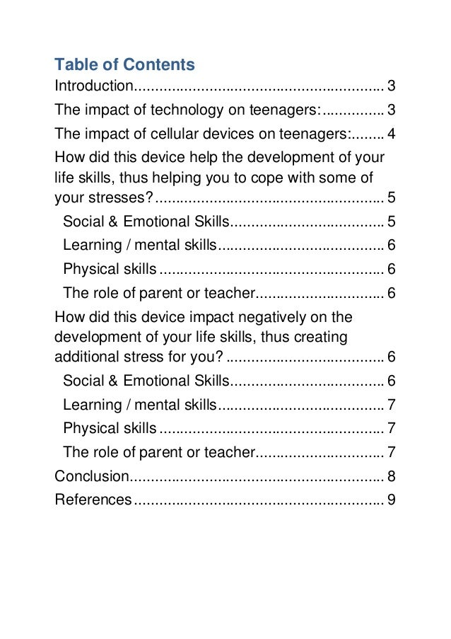 the role of technology in civilization what impact does it have on child development Does technology impact a child's emotional intelligence  how does technology impact each of these dimensions  the role of technology in motivation is one area that has elicited much .