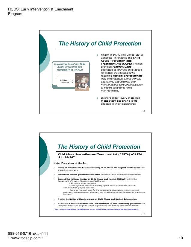 an analysis of the child abuse prevention and treatment act in the united states The child abuse prevention and treatment act and treatment activities related to child abuse and neglect states have wide latitude for determining how to use capta funds to receive child protective services, the child or the child's family must be eligible at the time service is.
