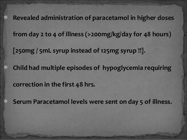 Child With Acute Liver Failure Dr Kirtichandra Kodali