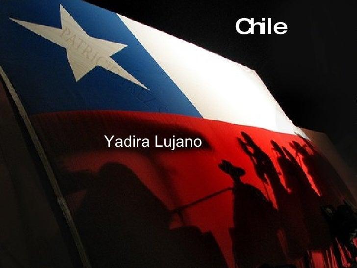 Chile Yadira Lujano