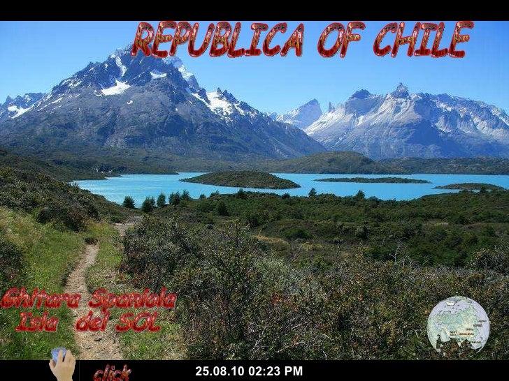 REPUBLICA OF CHILE 25.08.10   02:22 PM Ghitara Spaniola Isla  del SOL click