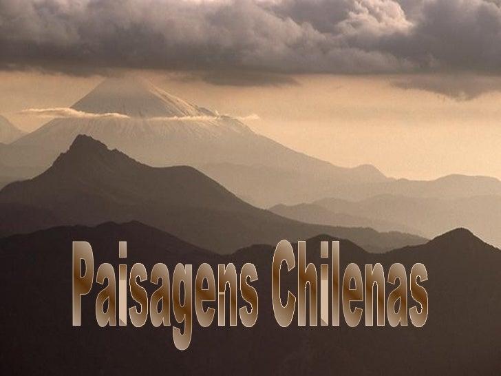 Paisagens Chilenas
