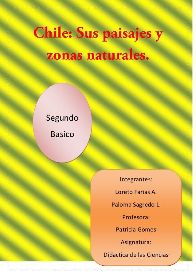 Segundo Basico Integrantes: Loreto Farias A. Paloma Sagredo L. Profesora: Patricia Gomes Asignatura: Didactica de las Cien...