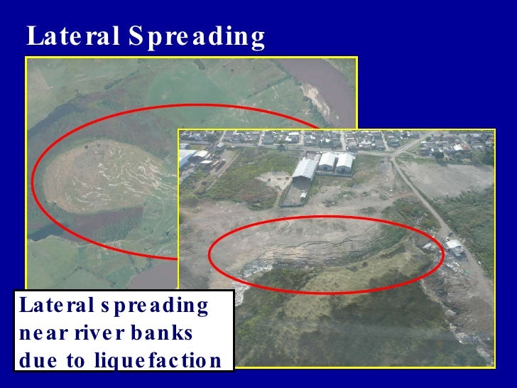 Lateral Spreading of Liquefied Soils - YouTube