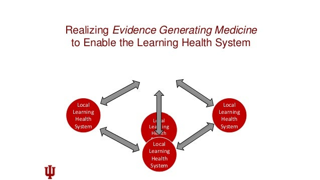 """Virtuous Cycle of Evidence Generation and Application Embi, Peter J., Payne, Philip R.O. """"Evidence generating medicine: re..."""