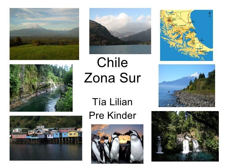 Chile Zona Sur Tía Lilian Pre Kinder
