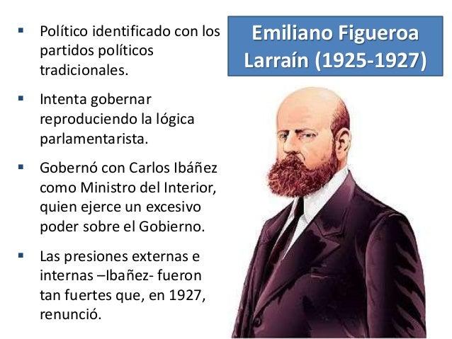 Chile 1925 1932 ciclo de inestabilidad pol tica for Como se llama el ministro del interior