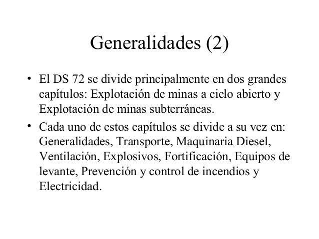 Chile decreto 72 mineria Slide 3